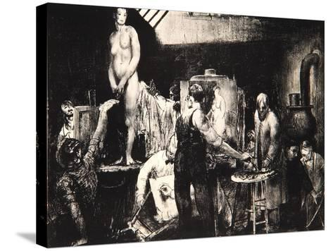 The Life Class, 1917-George Wesley Bellows-Stretched Canvas Print