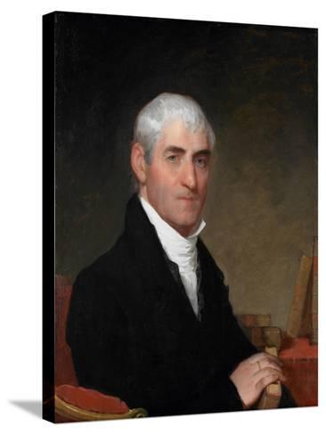 Portrait of Judge Daniel Cony of Maine, C.1815-Gilbert Stuart-Stretched Canvas Print