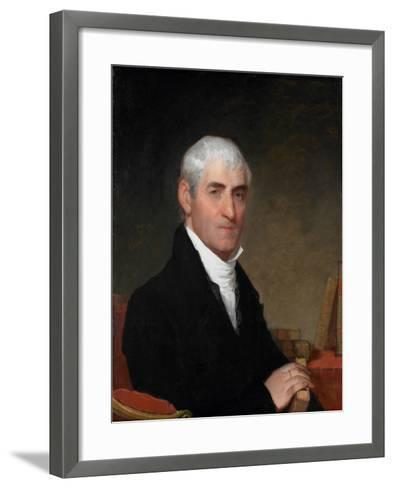 Portrait of Judge Daniel Cony of Maine, C.1815-Gilbert Stuart-Framed Art Print