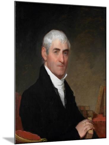 Portrait of Judge Daniel Cony of Maine, C.1815-Gilbert Stuart-Mounted Giclee Print