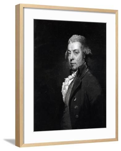 Thomas Malton, the Elder (1726-1801), 1806-Gilbert Stuart-Framed Art Print