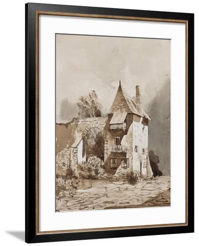 Picturesque Gateway-Giacinto Gigante-Framed Art Print