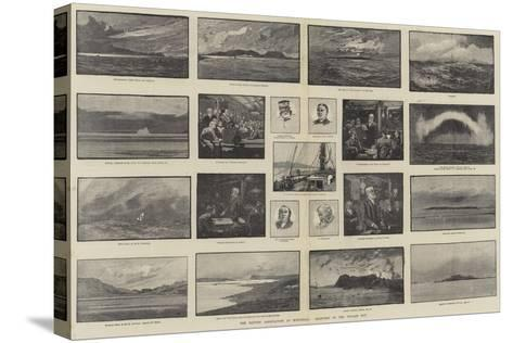 The British Association at Montreal, Sketches of the Voyage Out-George L. Seymour-Stretched Canvas Print