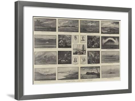 The British Association at Montreal, Sketches of the Voyage Out-George L. Seymour-Framed Art Print