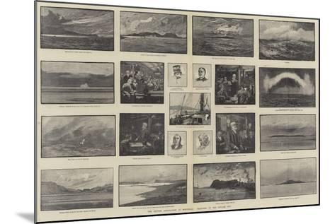 The British Association at Montreal, Sketches of the Voyage Out-George L. Seymour-Mounted Giclee Print