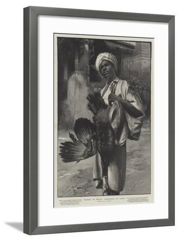 Turkey in Egypt, Christmas at Cairo-George L. Seymour-Framed Art Print