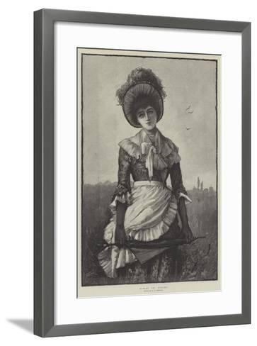 Across the Fields-George L. Seymour-Framed Art Print