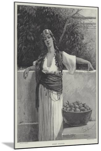 Sweet Oranges-George L. Seymour-Mounted Giclee Print