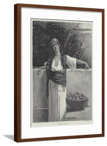 Sweet Oranges-George L. Seymour-Framed Art Print