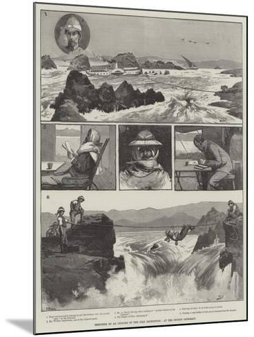 Sketches by an Officer of the Nile Expedition, at the Second Cataract-George L. Seymour-Mounted Giclee Print