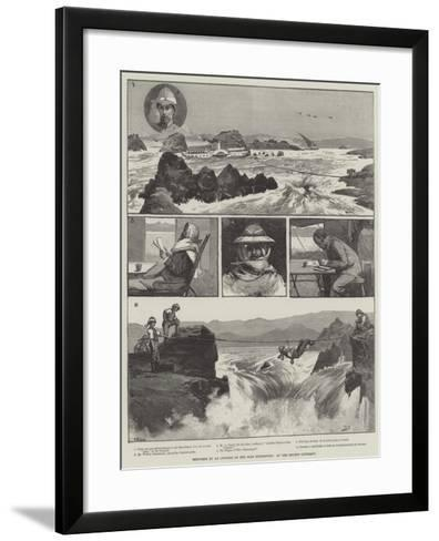 Sketches by an Officer of the Nile Expedition, at the Second Cataract-George L. Seymour-Framed Art Print