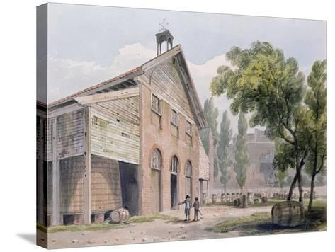 Messrs Beaufoy's Distillery, Formerly Cuper's Gardens, 1809-George Shepherd-Stretched Canvas Print
