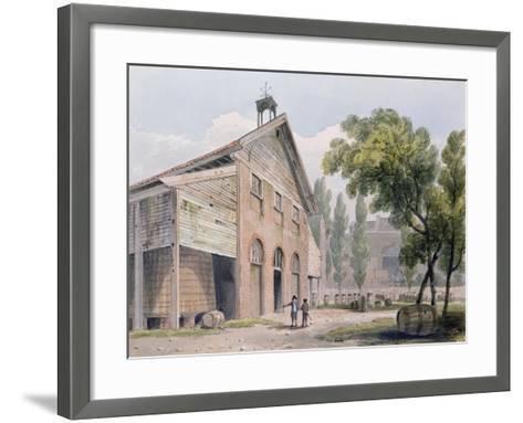 Messrs Beaufoy's Distillery, Formerly Cuper's Gardens, 1809-George Shepherd-Framed Art Print