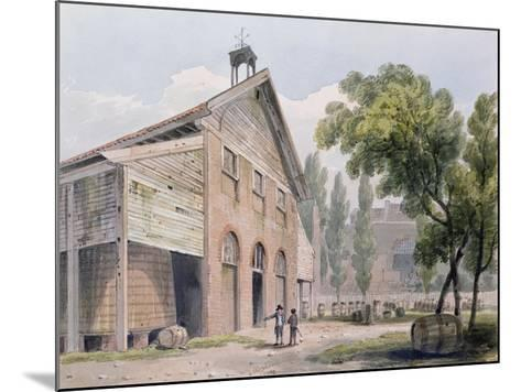 Messrs Beaufoy's Distillery, Formerly Cuper's Gardens, 1809-George Shepherd-Mounted Giclee Print