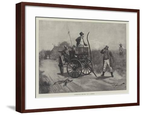 On the Way to the Poll-George L. Seymour-Framed Art Print