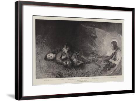Joan of Arc-George William Joy-Framed Art Print