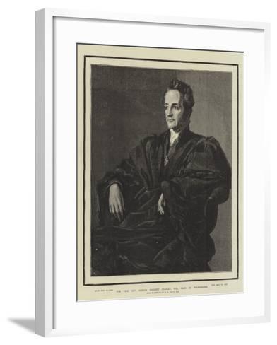 The Very Reverend Arthur Penrhyn Stanley, Dean of Westminster-George Frederick Watts-Framed Art Print