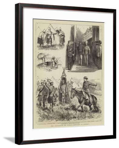 The Occupation of Cyprus, Sketches at Larnaca-Godefroy Durand-Framed Art Print