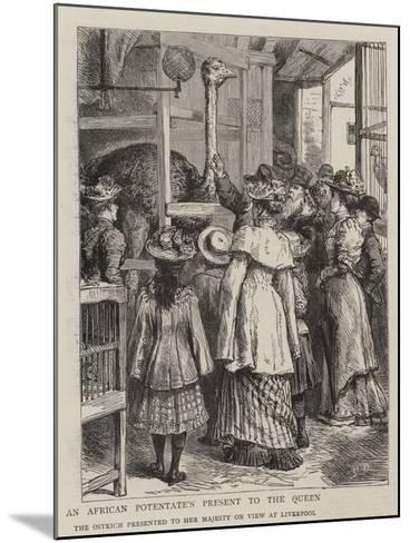 An African Potentate's Present to the Queen-Godefroy Durand-Mounted Giclee Print