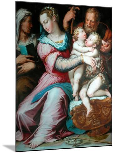 Holy Family with St John-Giorgio Vasari-Mounted Giclee Print