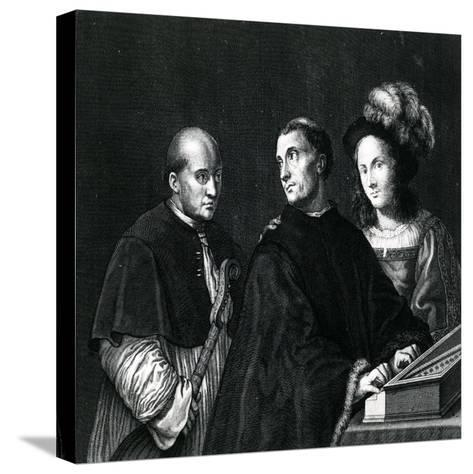 The Concert-Giorgione-Stretched Canvas Print