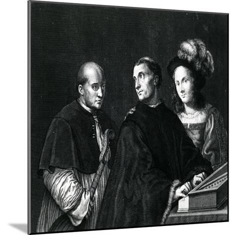 The Concert-Giorgione-Mounted Giclee Print