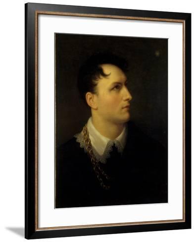 Bernhard August Von Lindenau, 1814-Giuseppe Grassi-Framed Art Print