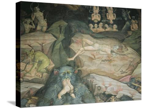 Scenes from the 'Inferno'-Giovanni Da Modena-Stretched Canvas Print