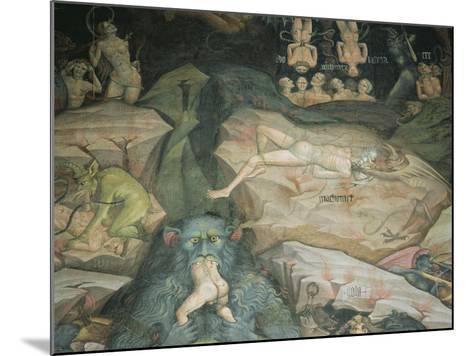 Scenes from the 'Inferno'-Giovanni Da Modena-Mounted Giclee Print