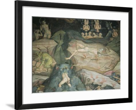Scenes from the 'Inferno'-Giovanni Da Modena-Framed Art Print
