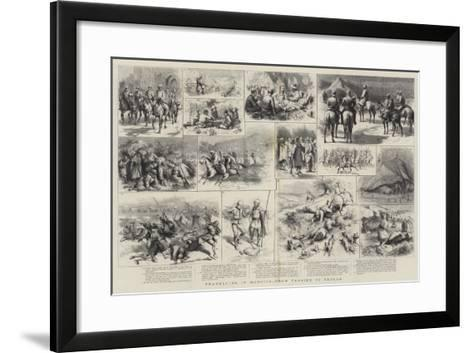 Travelling in Morocco, from Tangier to Tetuan-Godefroy Durand-Framed Art Print