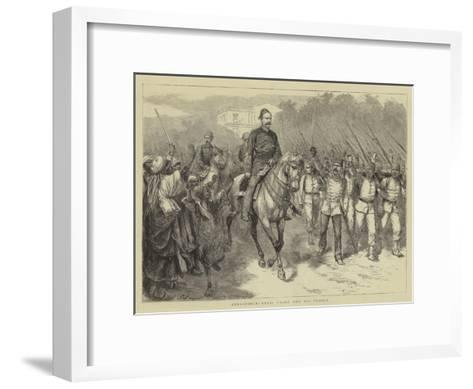 Alexandria, Arabi Pasha and His Troops-Godefroy Durand-Framed Art Print