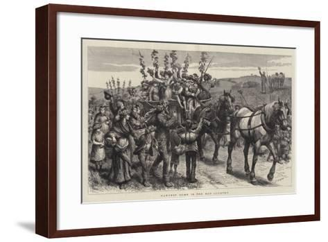 Harvest Home in the Hop Country-Godefroy Durand-Framed Art Print
