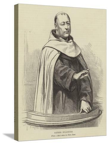 Father Hyacinthe-Godefroy Durand-Stretched Canvas Print