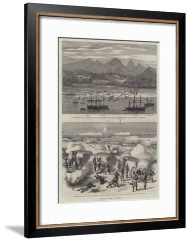 With the Turks-Godefroy Durand-Framed Art Print