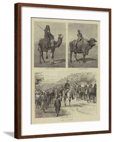 Life in Egypt-Godefroy Durand-Framed Art Print