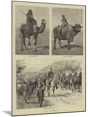 Life in Egypt-Godefroy Durand-Mounted Giclee Print