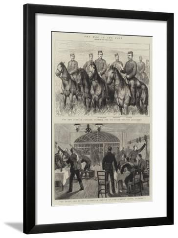 The War in the East-Godefroy Durand-Framed Art Print
