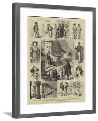 Notes at Palermo and its Environs-Godefroy Durand-Framed Art Print