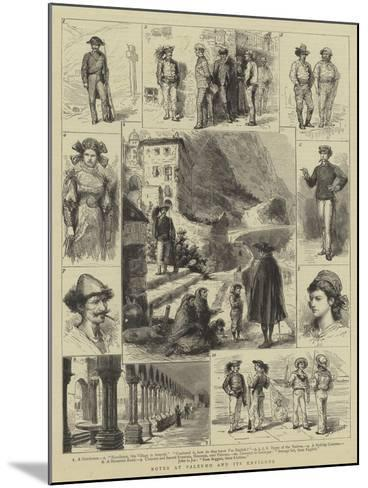 Notes at Palermo and its Environs-Godefroy Durand-Mounted Giclee Print