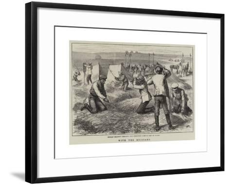 With the Russians-Godefroy Durand-Framed Art Print