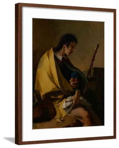 Saint Roch, C.1730-35-Giovanni Battista Tiepolo-Framed Art Print