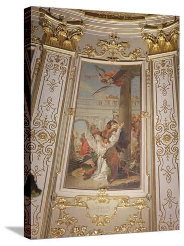 Martyrdom of St. John, Bishop of Bergamo-Giovanni Battista Tiepolo-Stretched Canvas Print
