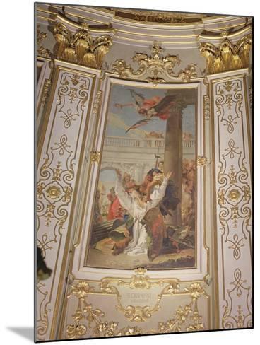 Martyrdom of St. John, Bishop of Bergamo-Giovanni Battista Tiepolo-Mounted Photographic Print