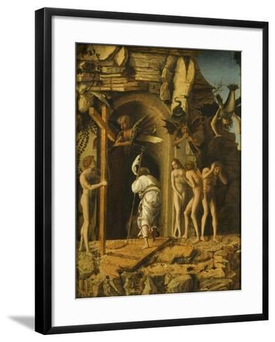 The Descent of Christ into Limbo, C.1475-80-Giovanni Bellini-Framed Art Print