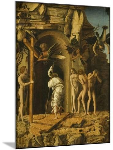 The Descent of Christ into Limbo, C.1475-80-Giovanni Bellini-Mounted Giclee Print