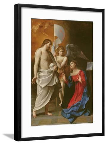 Christ Appearing to the Virgin, C.1608-Guido Reni-Framed Art Print