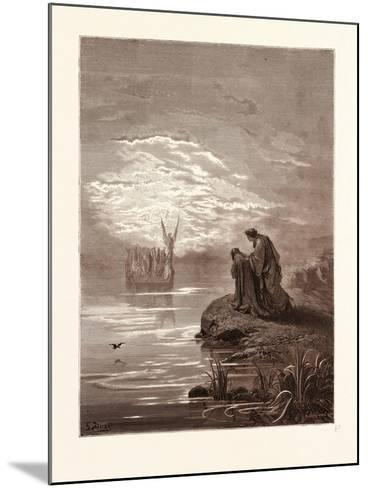 The Coming of the Boat-Gustave Dore-Mounted Giclee Print