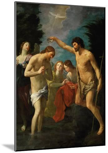 The Baptism of Christ, 1623-Guido Reni-Mounted Giclee Print