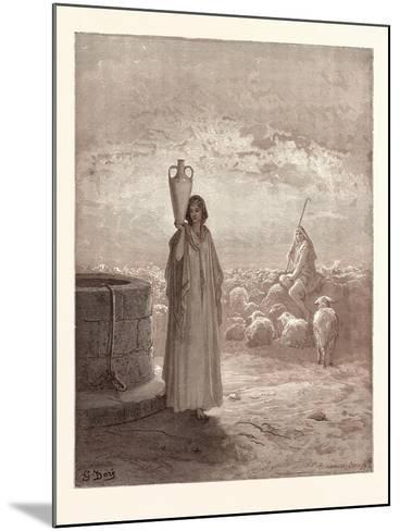 Jacob Killing Laban's Flocks-Gustave Dore-Mounted Giclee Print